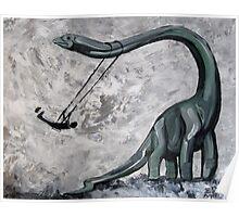 Dino Swing Poster