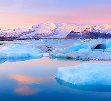 Land of Ice - Limited Edition Fine Art Photograph by Jarrod Castaing
