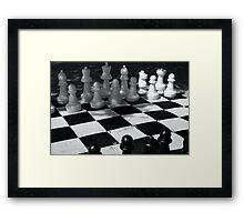 Big Chess Framed Print