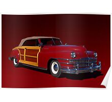 1946 Chrysler Town and Country Convertible Poster