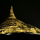 Chimney Rock - Night by Christopher Hanke
