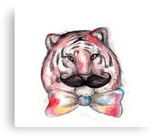 Smart Tiger Canvas Print