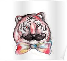 Smart Tiger Poster