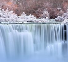 Winter Falls - Limited Edition Fine Art Photograph by Jarrod Castaing
