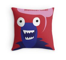 Be mine, monster-tine! Throw Pillow