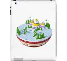 3D Kami's Lookout - Dragon Ball (No Background)  iPad Case/Skin