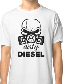 Dirty Diesel, VW Gas Mask Classic T-Shirt