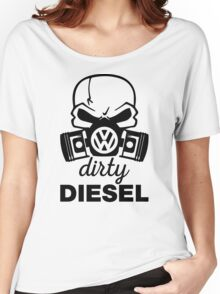 Dirty Diesel, VW Gas Mask Women's Relaxed Fit T-Shirt