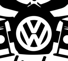 Dirty Diesel, VW Gas Mask Sticker