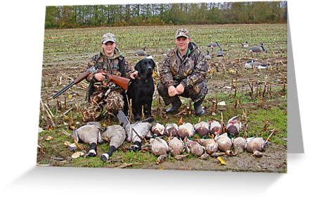 November Duck and Goose Hunt by Baldpate