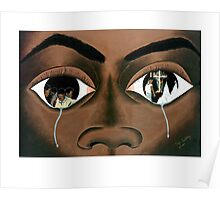 Tears of a Black Man Poster