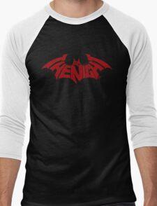 I Am The Night (Red) Men's Baseball ¾ T-Shirt