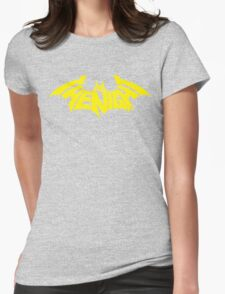 I Am The Night (Yellow) Womens Fitted T-Shirt