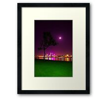 South Perth Foreshore 01 Framed Print