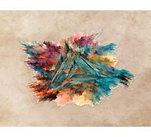 Triangle Fractal Art Photographic Print