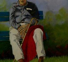 Nodding Off by Sandra  Sengstock-Miller