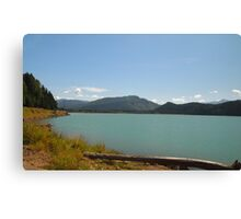 Alder Lake, Washington State Canvas Print