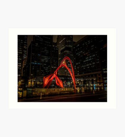 Picasso at Night Art Print