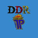 DDR - JP Emblem (black-red-gold) by fuxart