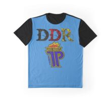 DDR - JP Emblem (black-red-gold) Graphic T-Shirt