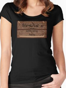 SamWise Landscaping & Supply Women's Fitted Scoop T-Shirt