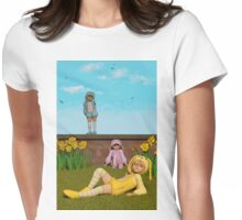Waiting For Easter Womens Fitted T-Shirt