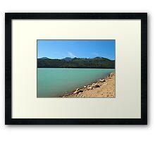 Alder Lake, Washington State Framed Print
