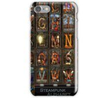 Steampunk - Alphabet - Complete Alphabet iPhone Case/Skin