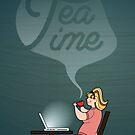Tea Time by Sydney Eller