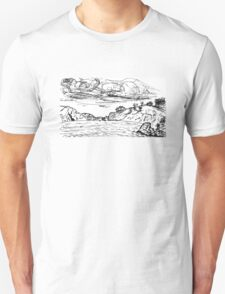 China Beach View T-Shirt