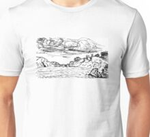 China Beach View Unisex T-Shirt