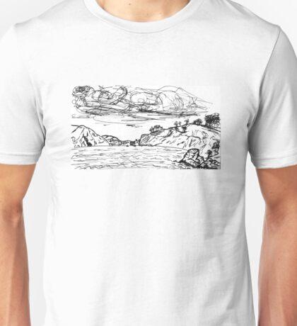 China Beach View Unisex T-Shirt