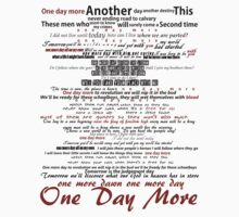 One Day More Typography by Aesthel