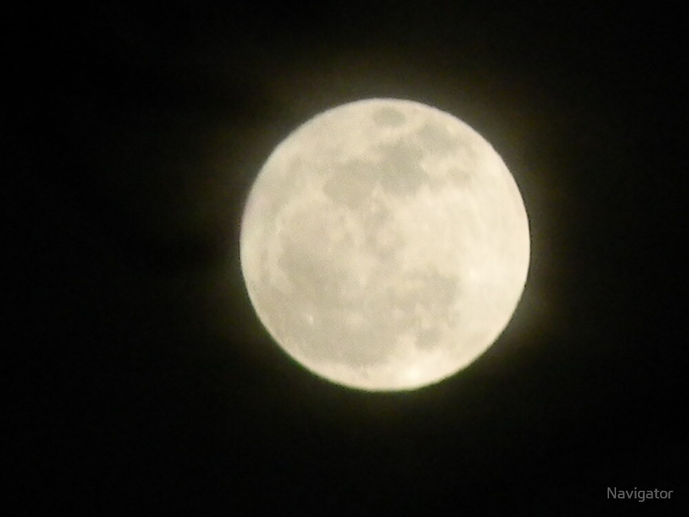 """Full Moon of January, or """"Wolf Moon"""" by Navigator"""