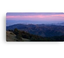 San Francisco from Mount Tam Canvas Print