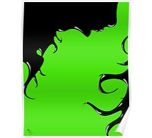 Inky Woman Poster