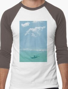 Dolphin in The Water Men's Baseball ¾ T-Shirt