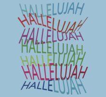 HALLELUJAH by TeaseTees