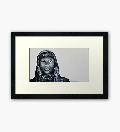Proud African Framed Print