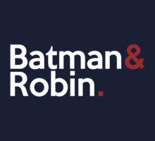 Jetset Batman and Robin by SwordStruck