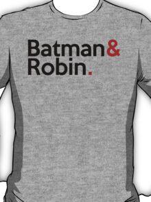 Jetset Batman and Robin T-Shirt