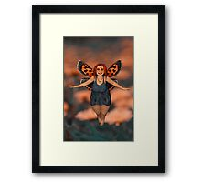 The Cutest Fairy Framed Print