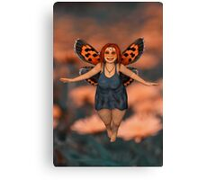 The Cutest Fairy Canvas Print