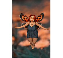 The Cutest Fairy Photographic Print