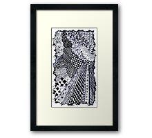 Zen-tangle #1 Framed Print