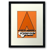 A Clockwork Orange I Framed Print