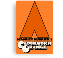 A Clockwork Orange I Canvas Print