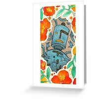 Robo2 Greeting Card