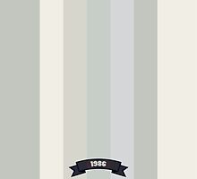 Grey Soft Color Stripe Pattern Card by thejoyker1986