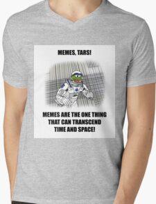 """""""Memes, TARS!"""" Interstellar Design Mens V-Neck T-Shirt"""